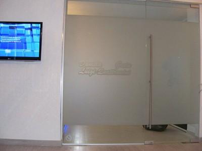 Sala de Asteptare---Perete Sticla