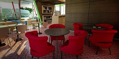 Interior cafenea