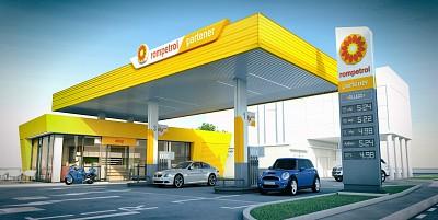 proiectare statie carburanti
