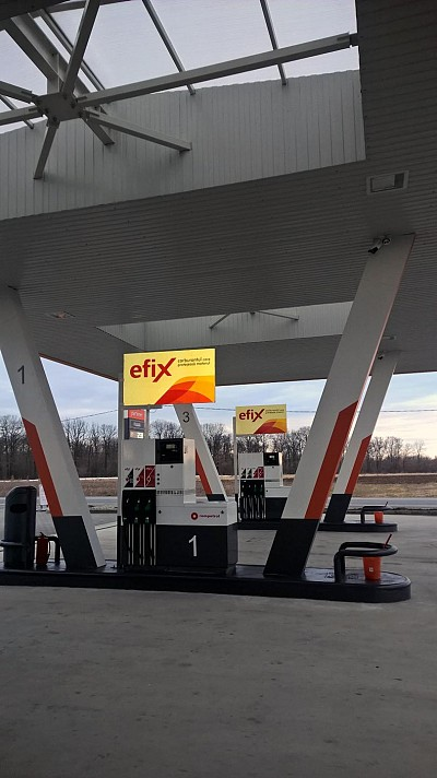 Pompe carburanti. Benzinarie