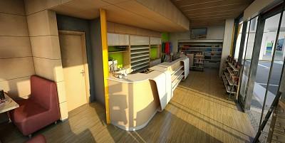 proiectare mobilier receptie